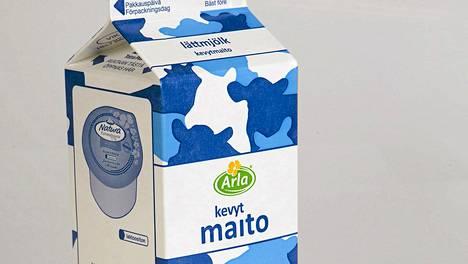 Valtaosa Suomessa myytävästä Arlan maidosta myös tuotetaan Suomessa.