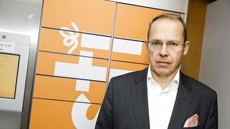 Heikki Malinen toimi vielä viime syksynä Postin toimitusjohtajana.