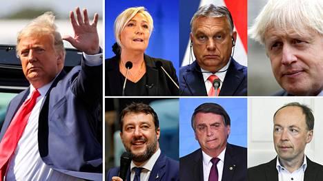 Donald Trump on maailman vaikutusvaltaisin populisti, jonka vaalitappiosta vetävät johtopäätökset myös ranskalainen oppositiopoliitikko Marine Le Pen, Unkarin pääministeri Viktor Orbán, Britannian pääministeri Boris Johnson, Italian oppositiopoliitikko Matteo Salvini, Brasilian pääministeri Jair Bolsonaro ja suomalainen oppositiopoliitikko Jussi Halla-aho.