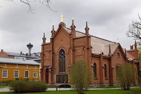 Finlaysonin kirkko, jossa järjestetään joukkohäät.