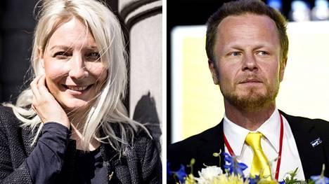 Laura Huhtasaari ja Juho Eerola