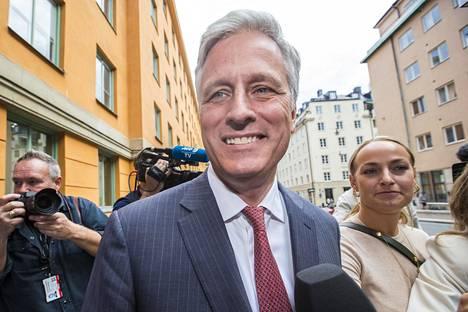 Robert C. O'Brien osallistui elokuun alussa räppäri Asap Rockyn oikeudenkäyntiin Tukholmassa.