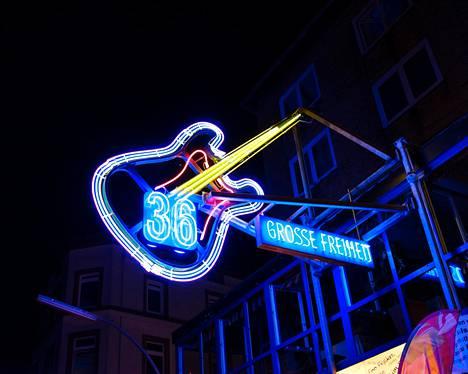 Große Freiheit 36 on maailmantähtien esiintymisistä tunnettu areena Hampurissa.
