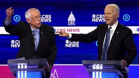 Bernie Sanders on pitänyt johtopaikkaa mielipidemittauksissa. Entinen varapresidentti Joe Biden oli tällä viikolla julkaistussa mittauksessa kolmantena.