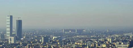Milanon suurkaupunki sijaitsee Lombardiassa, jonka ilma on Euroopan saastuneimpia.