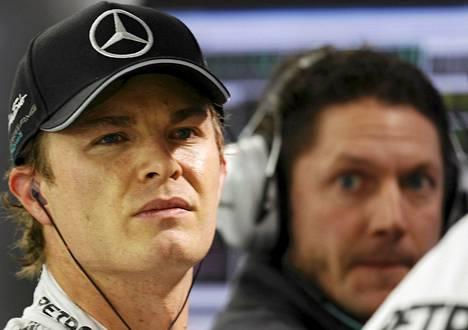 Mercedes-kuljettaja Nico Rosberg pitää tietoja Michael Schumacherin toipumisesta rohkaisevana.