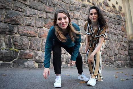 Balkanin alueen musiikkia esittävä Merve & Chrysa edustavat Etnosoi-festivaalilla Suomessa asuvia ulkomaalaistaustaisia artisteja ja nuoria lupauksia.