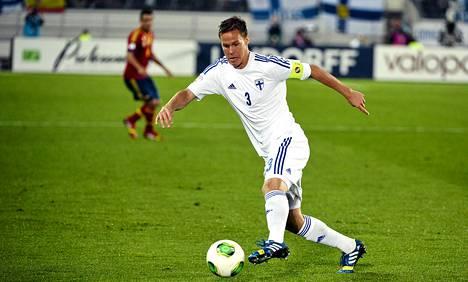 Niklas Moisander valittiin vuoden parhaaksi jalkapalloilijaksi.
