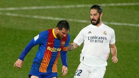 Lionel Messin FC Barcelona sekä Iscon Real Madrid ovat yhä mukana suurseurojen kiistellyssä Superliigassa.