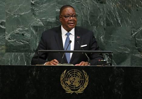 Malawin presidentti Peter Mutharika.