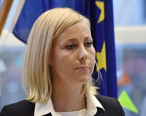 Toimittaja Jessikka Aro Helsingissä joulukuussa 2018.