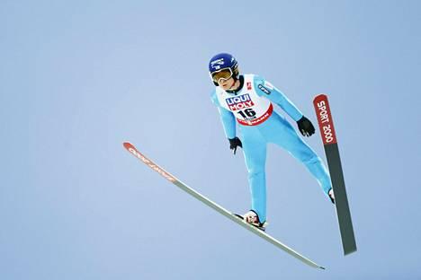 Ville Larinto Falunin MM-kisoissa helmikuussa 2015.