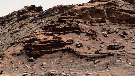 Curiosity otti syyskuussa uutta kuvaa Marsin maisemista.