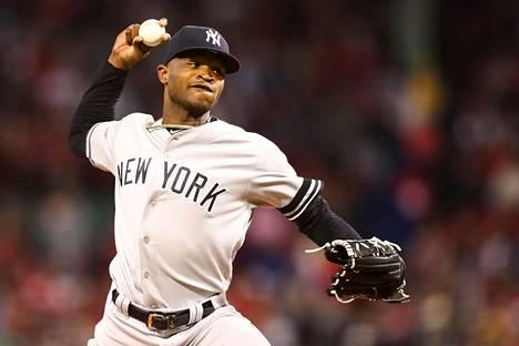 Domingo Germán on 81 ottelua pois MLB-peleistä.