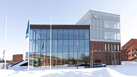 Aalto-yliopiston kauppakorkeakoulun rakennus Otaniemessä.