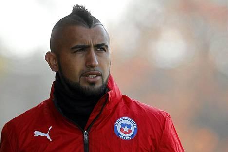 Chilen maajoukkueen Arturo Vidal on pidätetty Copa Americassa.