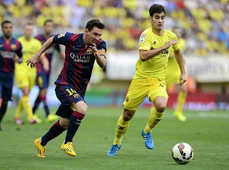 Messi loukkasi nivusen elokuun lopussa liigaottelussa Villarealia vastaan. Barcelona voitti ottelun 1–0.