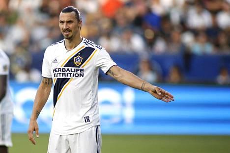 Zlatan Ibrahimovic pelaa vahvaa kautta Los Angeles Galaxyssa.