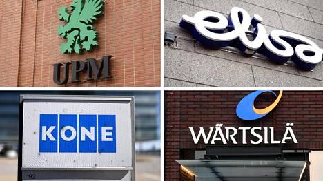 Suurista pörssiyhtiöistä loka–joulukuun osavuosikatsauksen julkistavat tänään esimerkiksi metsäyhtiö UPM, teleoperaattori Elisa, hissejä ja liukuportaita valmistava Kone sekä konepajayhtiö Wärtsilä.