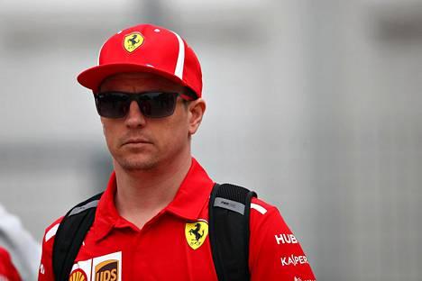Kimi Räikkönen aloitti Kiinan gp-viikonlopun hyvin.