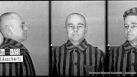 Witold maaliskuussa 1941. Archiwum Muzeum Auschwitzin luvalla. – Kirjan kuvitusta.
