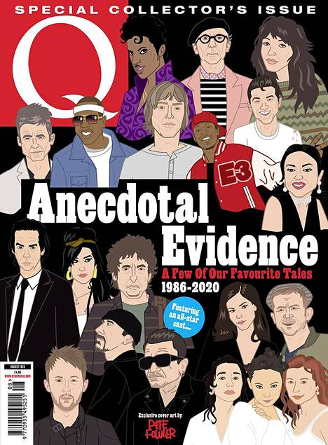 Q-lehden uusimmassa numerossa muisteltiin menneitä haastatteluja.