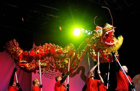 Kiinalaista uuttavuotta juhlitaan taas. Vuonna 2011 valmistauduttiin ottamaan lohikäärmein vastaan Jäniksen vuosi.