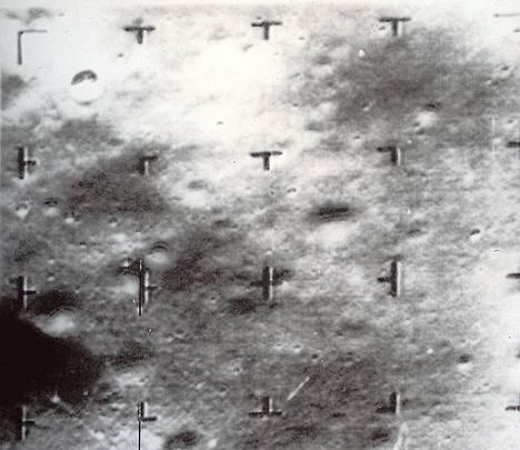 Ranger 8 kuvasi kuun pinnan ennen kuin törmäsi siihen.