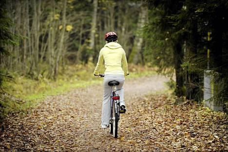 Naiset liikkuvat kodin lähiympäristössä sijaitsevilla ulkoilualueilla, pyöräteillä, uimahalleissa ja liikuntakeskuksissa.