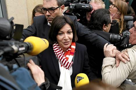 Anne Hidalgo on luvannut lisätä Pariisiin sosiaalista asuntotuotantoa ja päiväkotipaikkoja.