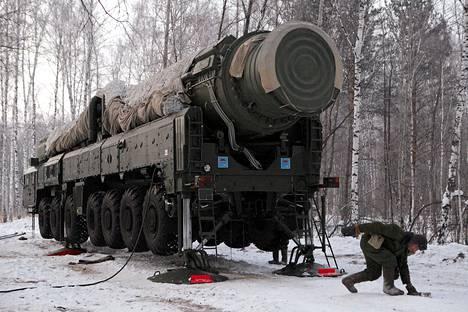 RT-2PM Topol ohjus.