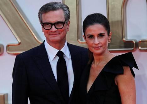 Colin Firth ja Livia Giuggioli ovat olleet naimisissa 20 vuotta.