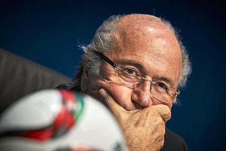Sepp Blatter on johtanut Fifaa vuodesta 1998.