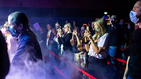 Yleisölle avoimet kulttuuritapahtumat olivat mahdollisia viime syksynä. Kuvassa Behmin levynjulkistuskonsertti Helsingin Tavastialla viime syyskuussa.