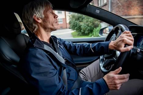 Harald Aasenin mielestä auto on ajo-ominaisuuksiltaan ihanteellinen.