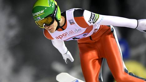 Antti Aalto pääsi ainoana suomalaisena Garmisch-Partenkirchenin maanantaiseen kilpailuun.
