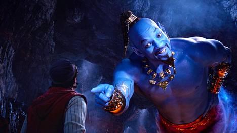 Will Smith esittää Henkeä Disneyn Aladdinin uudessa versiossa. Aladdinin roolissa nähdään Mena Massoud.