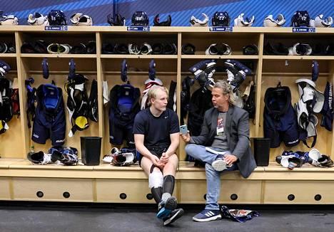 Saska Saarikoski haastatteli Patrik Lainetta Winnipegissä tammikuussa.