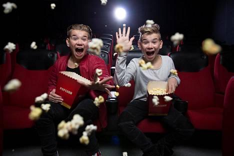 15-vuotiaat Marcus ja Martinus ovat supersuosittuja poptähtiä.