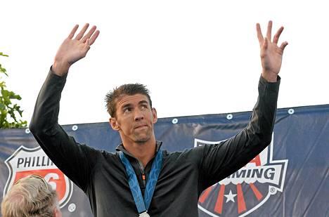 Michael Phelps on voittanut 18 olympialaisten kultamitalia.