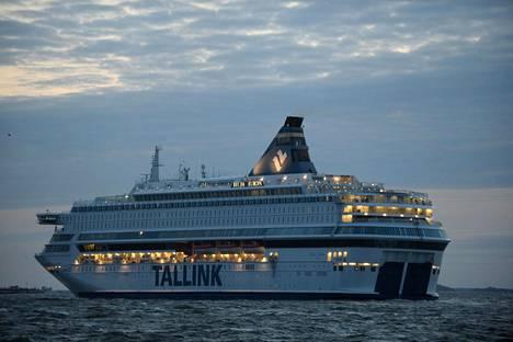 Tallink Siljan alus Silja Europa liikennöi Tallinnaan.