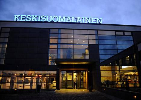 Keskisuomalaisen toimitalo Jyväskylän Aholaidassa.