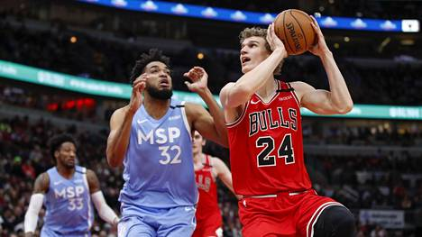 Lauri Markkasen edustama Chicago Bulls ei ole pystynyt vastaamaan joukkueelle asetettuihin odotuksiin.