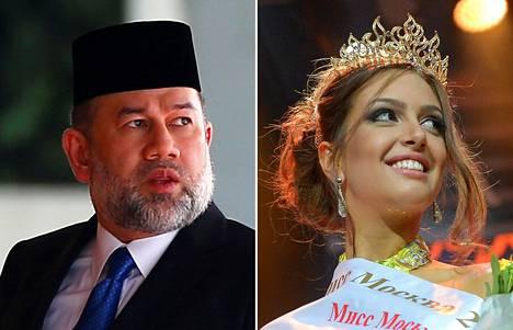 Vahvistamattomien tietojen mukaan Muhammad V ja Oksana Vojevodina menivät naimisiin marraskuun lopussa.
