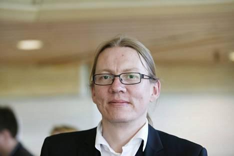 Vihreiden entinen puoluesihteeri Panu Laturi kuvattuna vuonna 2013.