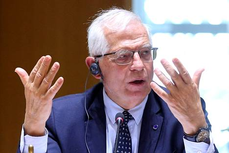 EU External Relations Director Josep Borrell photographed in Brussels in April.