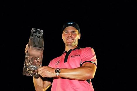 Martin Kaymer voitti sunnuntaina The Players Championshipin