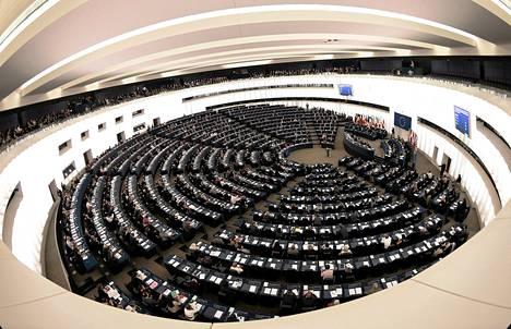 EU-parlamentti äänesti uudesta komissiosta Strasburgissa keskiviikkona.