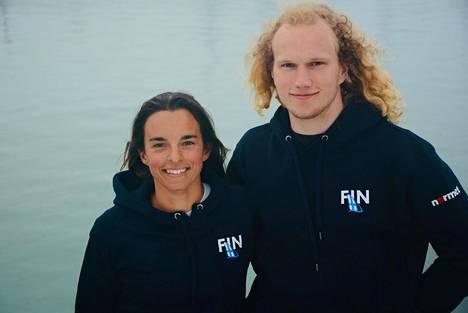 Sinem Kurtbay ja Akseli Keskinen edustavat Suomea Tokion olympialaisissa Nacra17-luokassa.