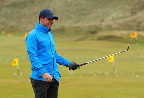 Rory McIlroy lähtee suosikkina torstaina alkavaan Britannian avoimeen golfturnaukseen.